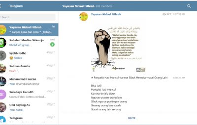 telegram YNF