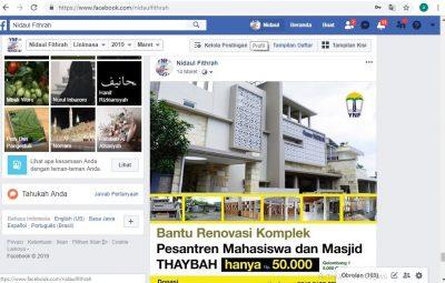 Facebook Maret
