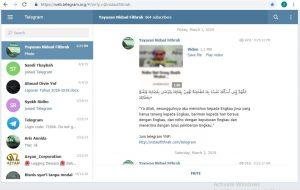 Telegram Maret