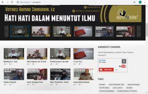 Website Annida TV Maret